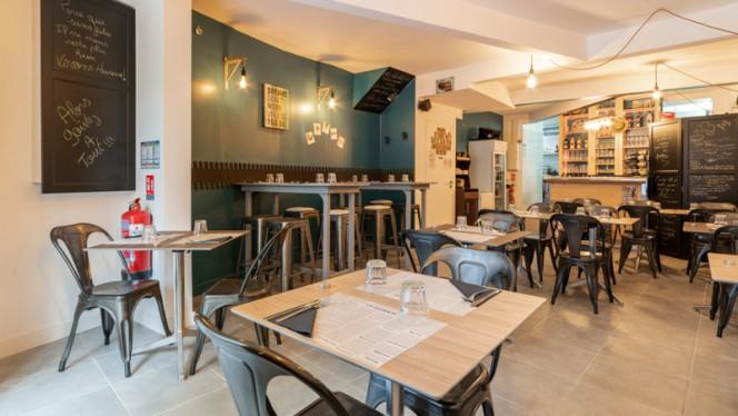Salle du restaurant - Le Comptoir de Becca, Marseille