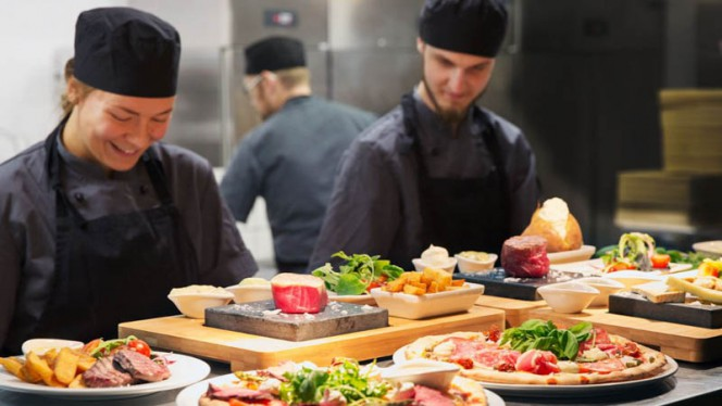 Kockens förslag - Blackstone Steakhouse Linnégatan, Göteborg