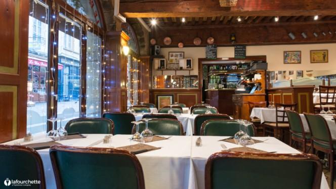 Salle du restaurant - Le Palais de Saint Jean, Lyon