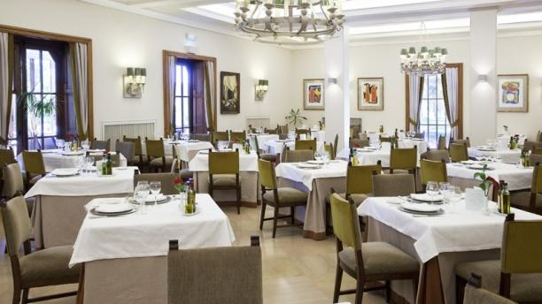 Vista comedor - Restaurante Parador de Teruel, Teruel