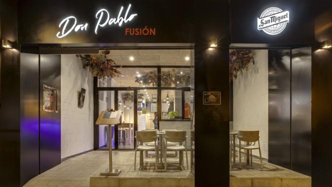 Fachada - Don Pablo Fusión, Valencia