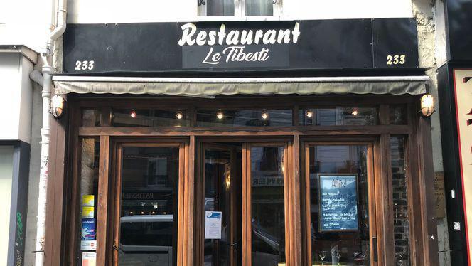 Devanture - Le Tibesti, Paris