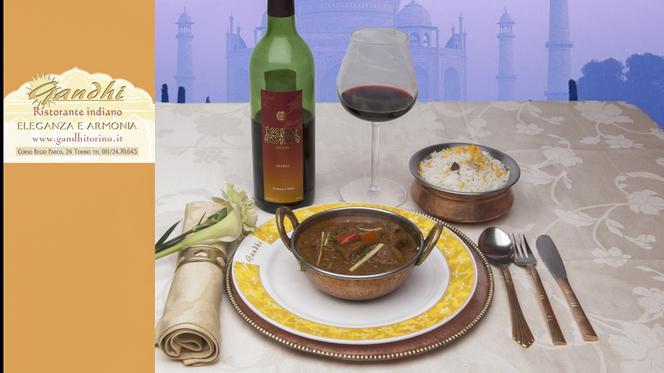 Pollo curry Masala - Ristorante Indiano Gandhi, Turin