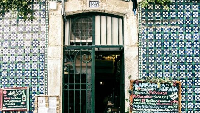 Entrada - Garrafeira Alfaia, Lisboa