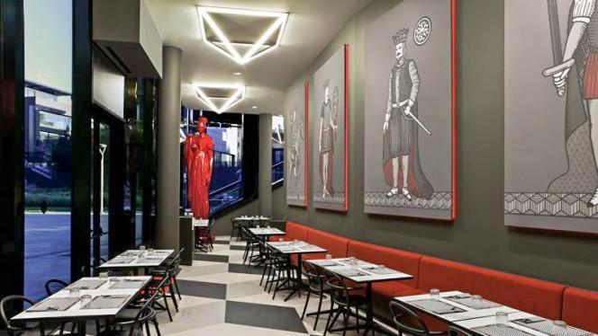 Veduta dell interno - Briscola Pizza Society - Porta Nuova, Milan