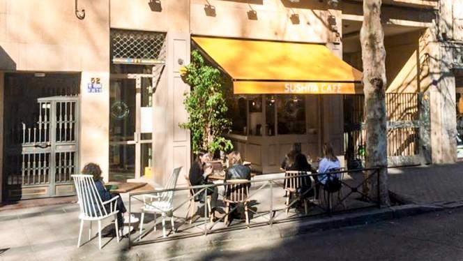 Fachada - Sushita Café - Alberto Aguilera, Madrid
