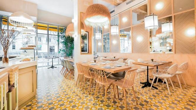 Salón - Sushita Café - Alberto Aguilera, Madrid