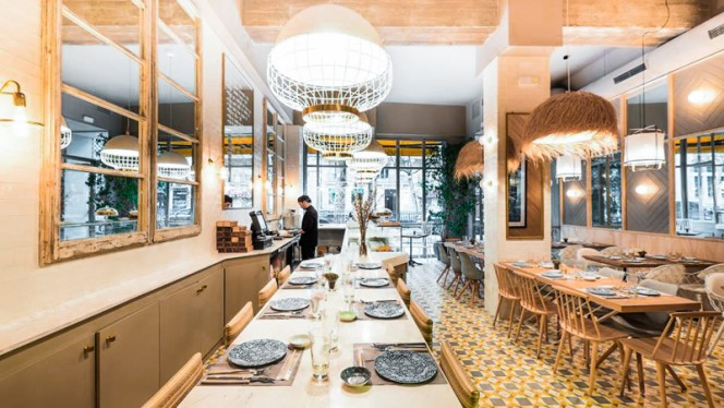 Vista interior - Sushita Café - Alberto Aguilera, Madrid