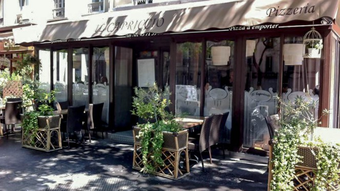 Terrasse - Il Capriccio, Paris