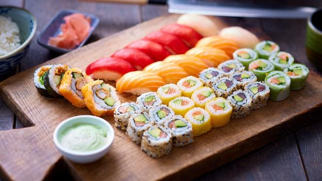 Plateau à partager - Eat Sushi, Villeneuve-d'Ascq