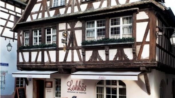 Façade du restaurant - Lohkäs, Strasbourg
