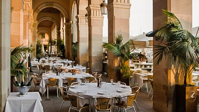 Vista terraza - La Gavina, Barcelona