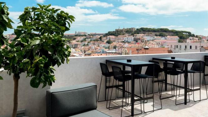 Esplanada - Mensagem - Restaurante e Bar Panorâmico, Lisbon