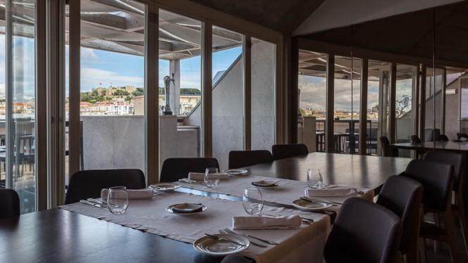 Vista do interior - Mensagem - Restaurante e Bar Panorâmico, Lisboa