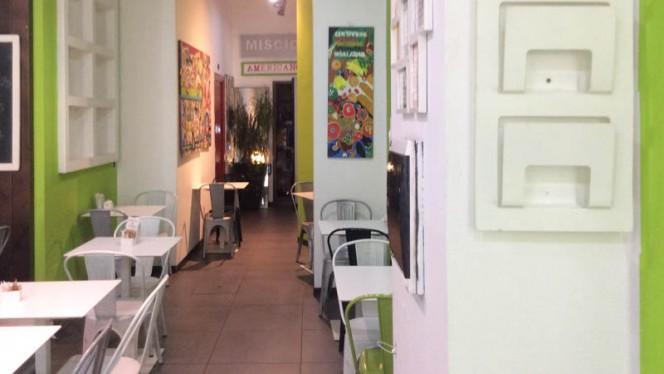 Vista sala - Burger & Chips, Milano