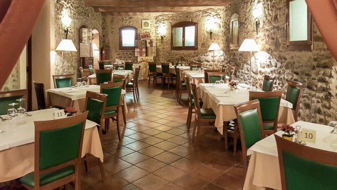 La sala - Ristorante La Spia d'Italia,