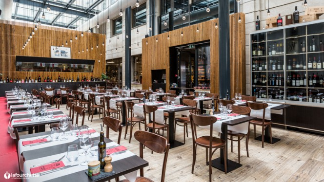 Salle du restaurant - Da Matteo, Genève
