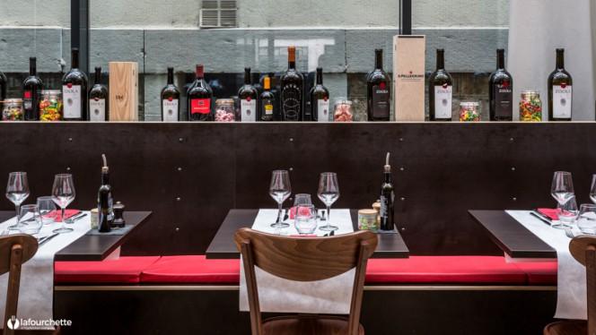 Tables dressées - Da Matteo, Genève