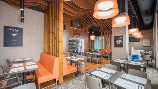 Sala do restaurante - Barcarola - Alameda, Porto