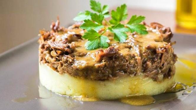 Meloso de cola de buey con parmentier de patata - Nut Gastrobar, Barcelona