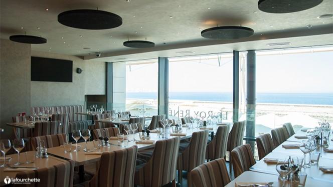 Salle du restaurant - Le Roy René, Marseille