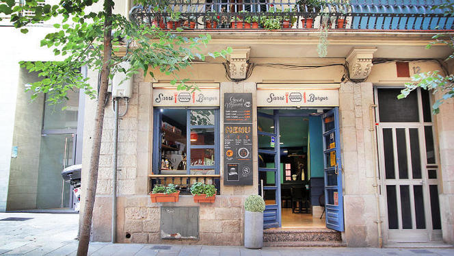 vista exterior - Sarri Burger, Barcelona