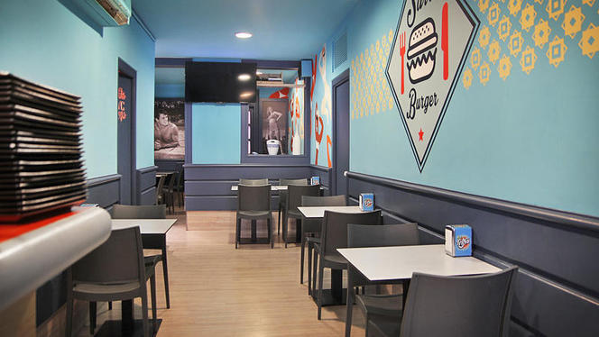 vista interior - Sarri Burger, Barcelona