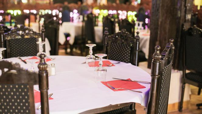 Table dressée - Samina, Paris