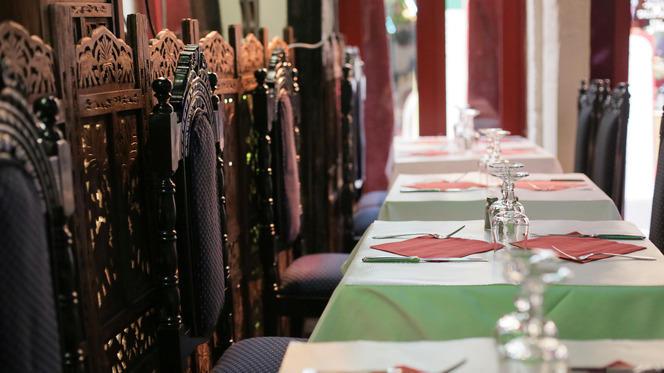 Tables dressées - Samina, Paris