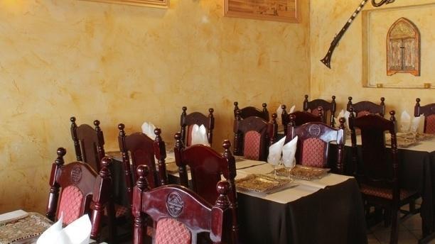 Salle du restaurant - Le Marrakech, Paris