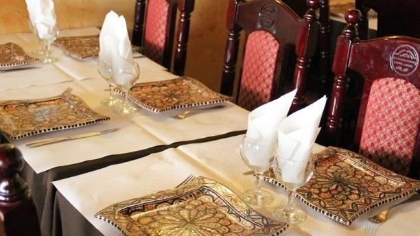 Table dressée - Le Marrakech, Paris