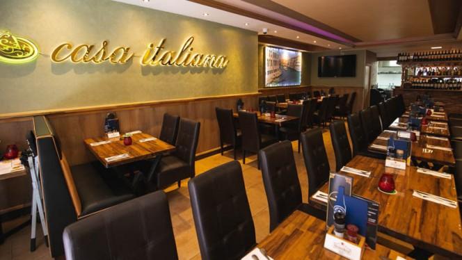 Het restaurant - Casa Italiana, Amsterdam