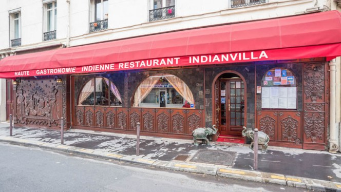 Entrée - Indian Villa, Paris