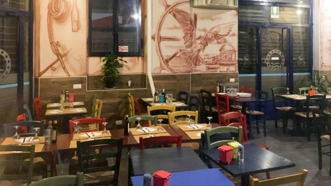 Vista sala - Osteria il Piccolo Porto, Milan