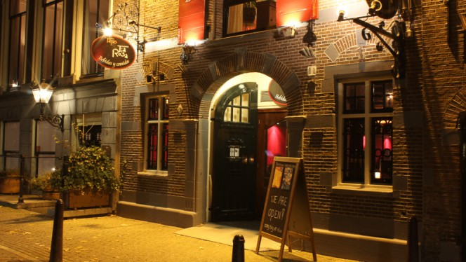 Ingang - Tia Rosa, Amsterdam
