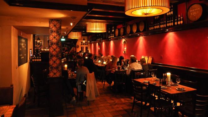 restaurantzaal - Tia Rosa, Amsterdam