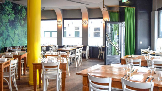 het restaurant - Apostrof, Amsterdam