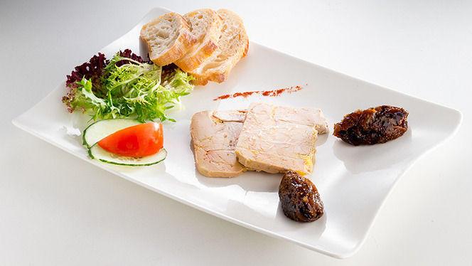 Le foie gras de canard - Le Dix, Strasbourg