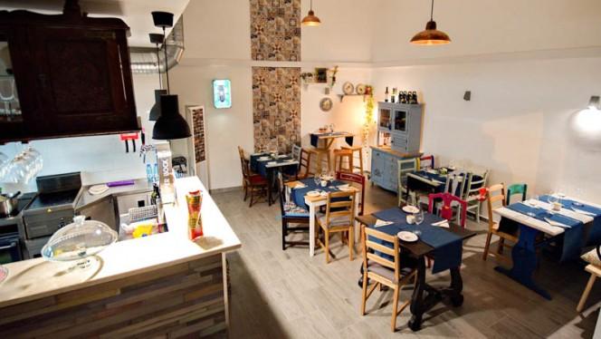 Sala do restaurante - Beco a Sério, Lisboa