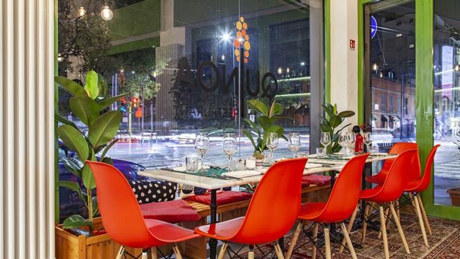 Vistas della sala - Quinoa Milano, Milano