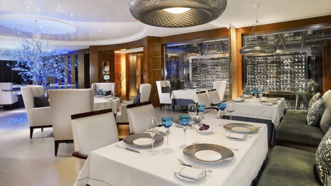 Salle du restaurant - Le Bayview by Michel Roth - Hôtel Président Wilson, Genève