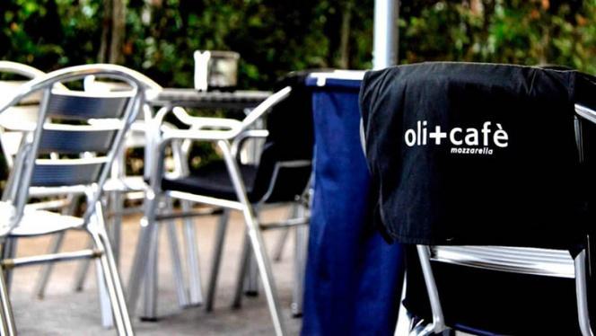 Detalle terraza - Oli+Café, Barcelona