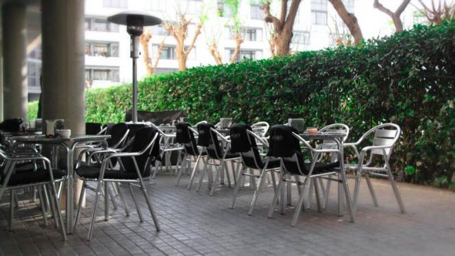 Vista terraza - Oli+Café, Barcelona