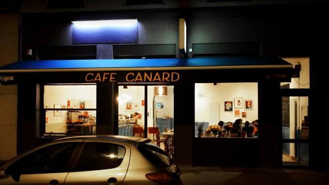Vue extérieure - Café Canard, Lyon