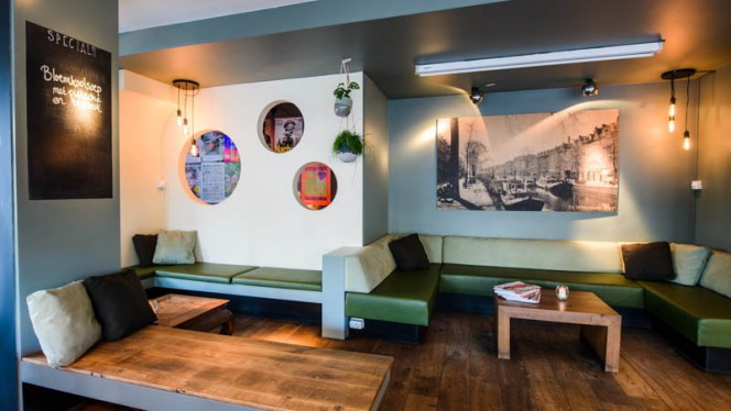Restaurant - Cafe Nassau, Amsterdam