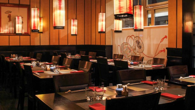 Salone ristorante - Miyako, Milan