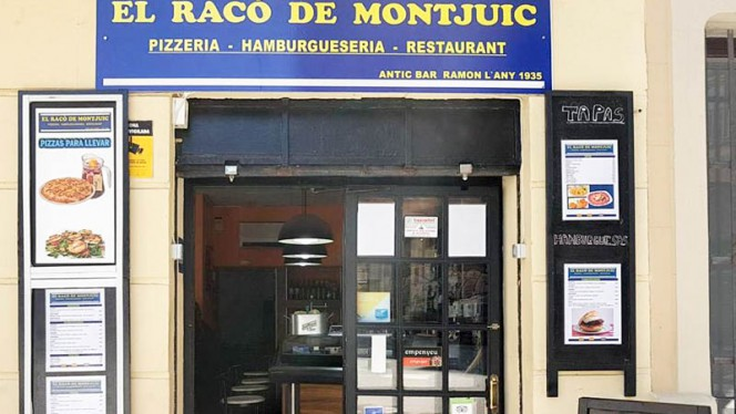Entrada - El Racó de Montjuic, Barcelona