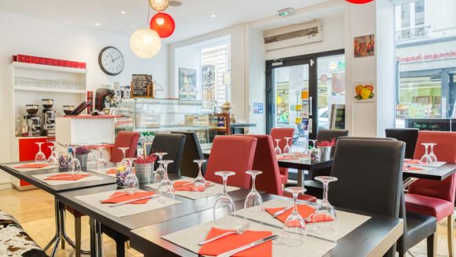 Salle du restaurant - Er Baretto, Lyon