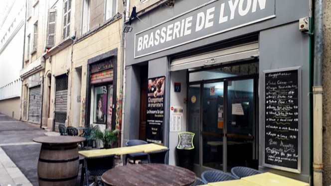 Entrée - Brasserie de Lyon, Marsiglia