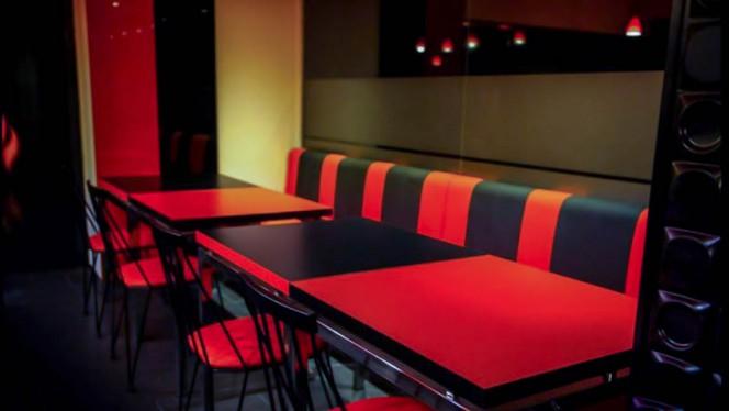 Vista del interior - Q'Burger, Barcelona